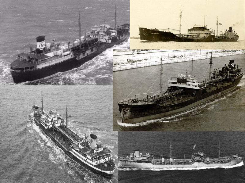 T2 Tanker Collage